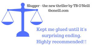Slugger, a suspense novel